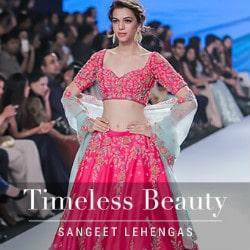 Upto 30% OFF on Timeless Sangeet Lehengas