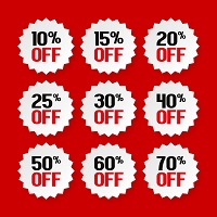 Upto 40% OFF on Wide Range of Sales