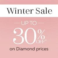 Upto 30% OFF on Winter Diamond Sale Orders