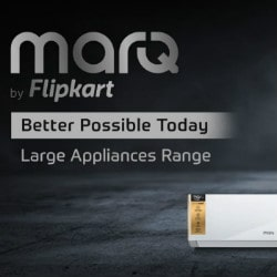 Flipkart: Upto 40% OFF on MarQ Orders