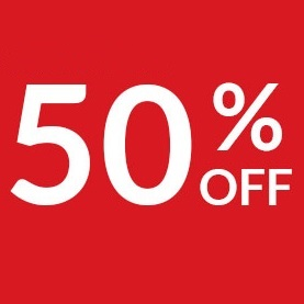 Sale: Up to 50% OFF on Selected Items