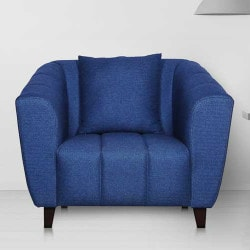 Pepperfry: Upto 50% OFF on Bucket One Seater Sofas Orders