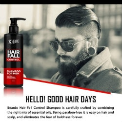 Flat ₹ 350 on Hair Fall Control Shampoo for Men