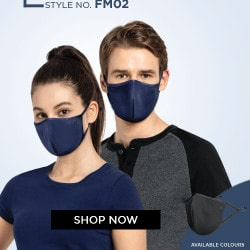 Flat ₹ 249 on Unisex Face Mask with 7-layered filtration system