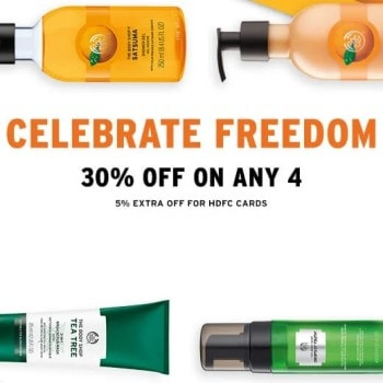 Freedom Sale: 30% Off on Any 4