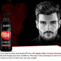 Flat 30% OFF on Dandruff Control Shampoo with Apple Cider Vinegar