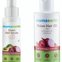 Flat ₹ 669 on Onion Hair Serum + Onion Hair Oil