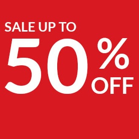Up to 50% OFF on Selected Items