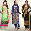 Get up to 71% off Straight Salwar Suits Orders