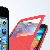 Get up to 85% off Flip Covers & Screen Protectors Orders