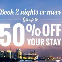 Ctrip: Upto 50% OFF on 2+ NIGHT Shanghai / Beijing / Guangzhou / Shenzhen / Hangzhou / Hong Kong Bookings