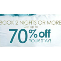 Ctrip: Get up to 70% off 2+ Nights Hotel Bookings Orders