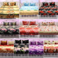 Get 70% off Blanc Pack Of 10 Printed Double Bedsheet Set Collection Orders