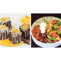 FreshMenu: Flat 9% OFF on Burrito N Chocolate Screwdriver Meal-For-One Pre-Orders