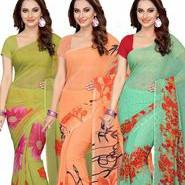 Pay ₹ 999 on 3+ Ishin Designer Saree Combo's Orders