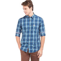 NNNOW: Upto 50% OFF on Men's Blue/White Apparel