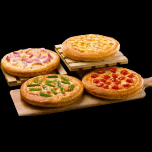 Flat ₹ 395 on Magic Pizza Box of 4 Veg