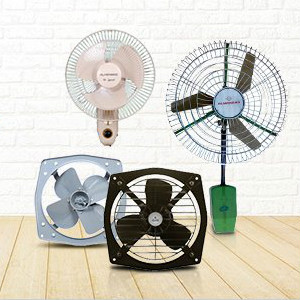 Upto 10% OFF on Wall & Pedestal Fans Orders
