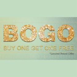 Buy 1 Get 1 FREE on Women's Jewellery Orders