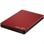 Flat 50% OFF on Seagate 1TB Backup Plus Slim Portable External Hard Drive (Red)
