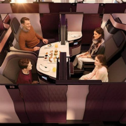Qatar Airways: Discover a First in Business on Qsuite Qatar Airways Business Class New Standard of Bookings