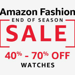 Upto 50% OFF on Timeless Watches !