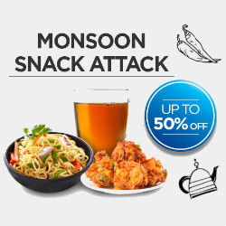 BigBasket: Upto 50% OFF on Monsoon Snack Attack Orders