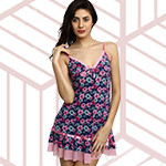Buy 2 at ₹ 1,499 on Babydoll Sleepwear Orders