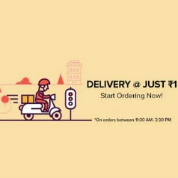 FreshMenu: Flat ₹ 1 Delivery on Delectable Meals Between 11 AM -> 3:30 PM