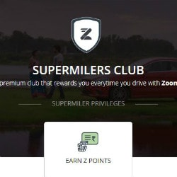 Zoomcar: Earn Z-Points for Every Booking Site-Wide & Get Free Sedan, SUV and Luxury rides on Weekdays
