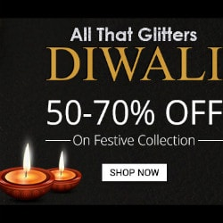 Flat 50% - 70% OFF on Diwali Festive Collection