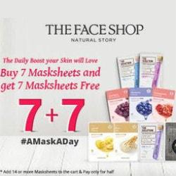 Nykaa: Get 7 Masksheets FREE on 7 Masksheets Orders
