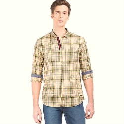 NNNOW: Upto 50% OFF on Checked Shirts Orders
