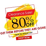 Clearance Sale: Upto 80% Off