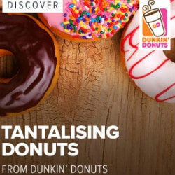 Swiggy: Discover Tantalising Donuts at Connaught Place Dunkin Donuts !