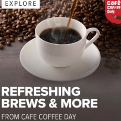 Swiggy: FREE Delivery on Cafe Coffee Day !
