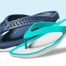 Upto 40% OFF on Crocs Swiftwater Collection