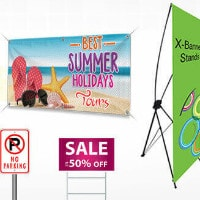 Upto 50% OFF on Custom Banners Orders