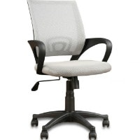 Flat 62% OFF on Bolton Low Back Ergonomic Chair in Grey Colour